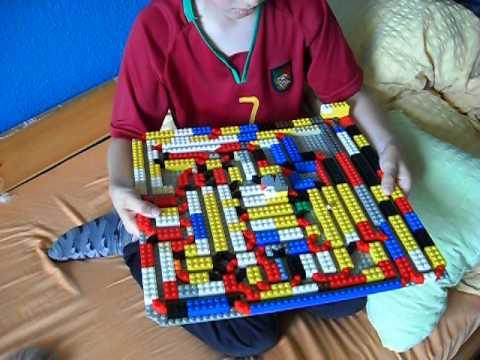 lego kugel labyrinth auf einer sehr gro en platte youtube