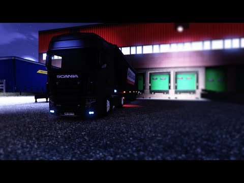 Euro Truck Simulator 2 | Scania R700 | Gameplay HD |