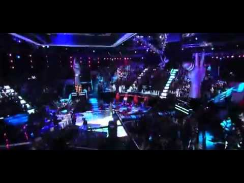 Maroon 5 ft Christina Aguilera - Moves Like Jagger (Live At The Voice 2011)