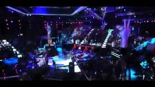 Maroon 5 Ft Christina Aguilera Moves Like Jagger Live At The Voice 2011 - MusicVista