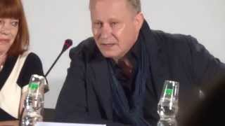 Stellan Skarsgard on Lars von Trier at Nymphomaniac press conference