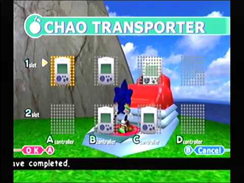 Transfering Chao To VMU Sonic Adventure 2 Dreamcast