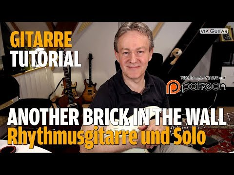 """Songtutorial- Pink Floyd """"Another Brick In The Wall, Part Two"""" inkl. Gitarrensolo"""