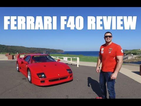 Ferrari F40 Review Australia