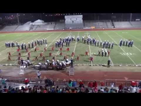 Martin County High School Tiger Regiment - Crown Jewel Marching Band Festival FINALS - Oct. 15, 2016
