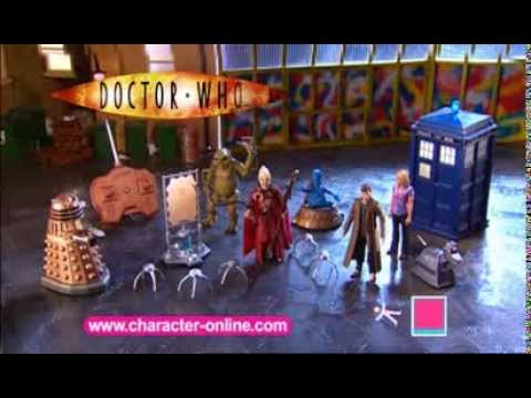 Doctor Who-  Character Options 2006 Action Figure Advert loo
