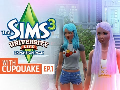 """""""MY LITTLE PONY SISTERS"""" Sims 3 University Life Ep 1"""