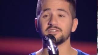 """Álex: """"Still Loving You"""" - Audiciones a Ciegas - La Voz 2016"""