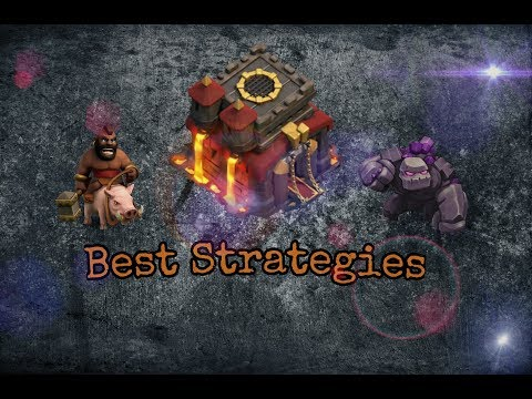Syria Paradise VS Inside Cw The Best TH10 Strategies #Part_1