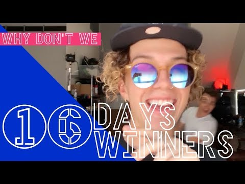 Why Don&39;t We Asia - 16 Days 16 Winners  6CAST