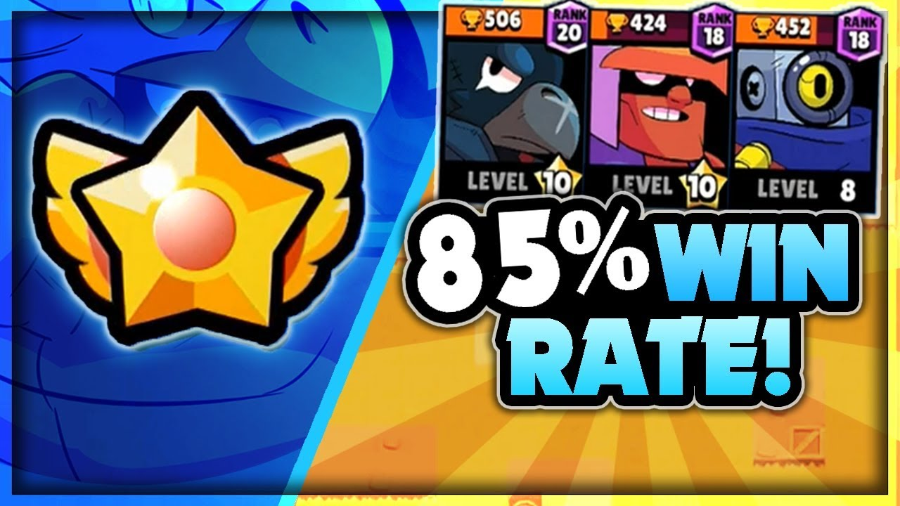 The Best Star Power In Brawl Stars 85 Win Rate Team Comp On