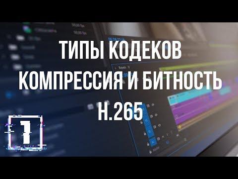 Всё о кодеках и форматах видео. Часть 1 - Контейнеры. Типы кодеков. H.264 Vs H.265