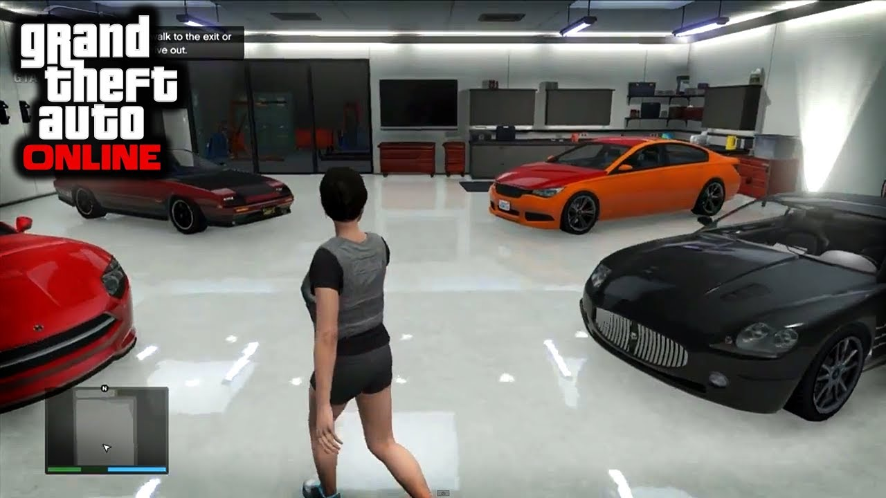 GTA Online - Apartments, Garages, Cars and More - YouTube