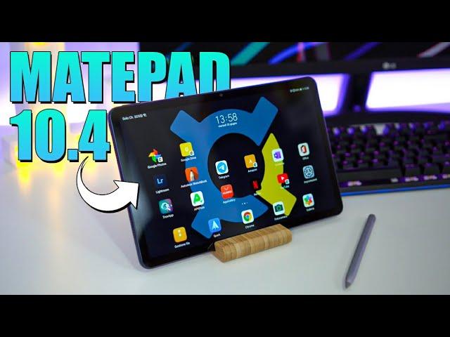 Recensione MatePad 10.4 - il Tablet per TUTTI!