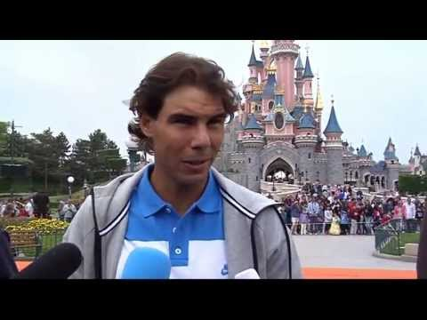 A Jubilant Nadal Celebrates His Eighth French Open Victory With Disney Characters