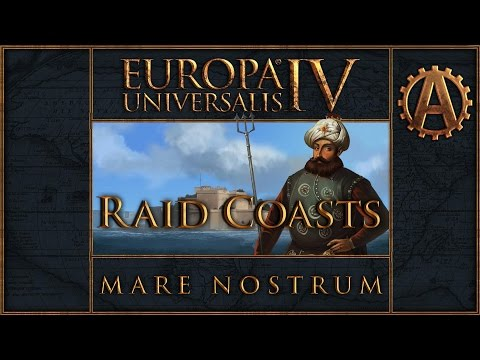 EU4 Raid Coasts in Mare Nostrum