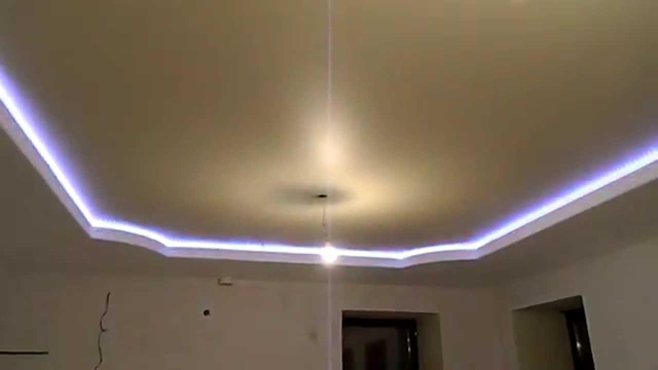 подвесные потолки гипсокартона фото спальня