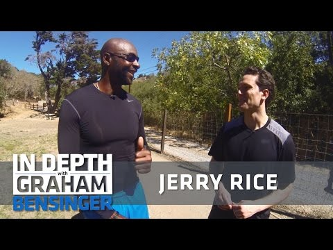Jerry Rice to Graham Bensinger: I hope you puke