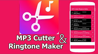 Call Ringtone Maker Mp3 Music Cutter 1 190 Apk For Android Youtube