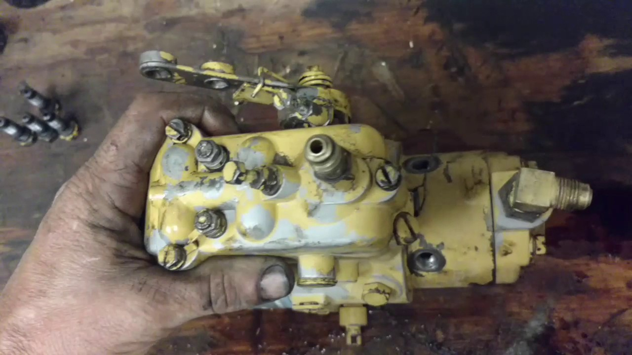 stanadyne injection pump teardown and inspection