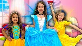 SARAH e suas amigas FAZEM UMA FESTA