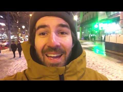 Touring Paris at Night - Travel Vlog
