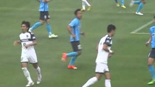JFL第18回第8節FC大阪VSラインメール青森 thumbnail