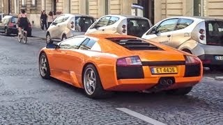 Lamborghini Murcielago + F10 BMW M5 Drive By