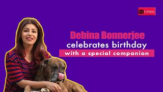 Debina Bonnerjee celebrates her birthday with a special companion and TV Times