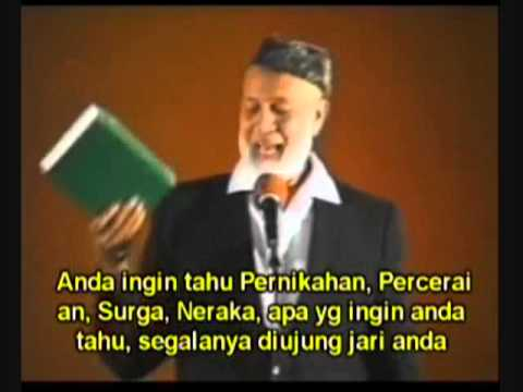 Muhammed - The Natural Successor To Christ - Ahmed Deedat Bahasa Indonesia