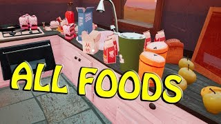 HELLO NEIGHBOR BETA 3 - ALL FOODS LOCATION