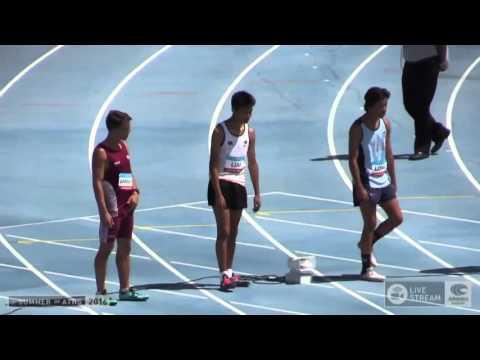 Mens U15 100m - FINALS - Australian Junior Athletics Championships