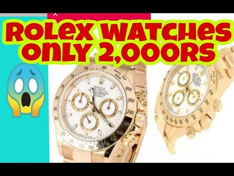 Rolex Watches Only Rs 2,000/ In India