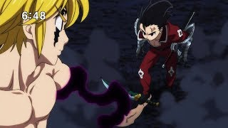 Meliodas vs 10 Commandments -「Full Fight」