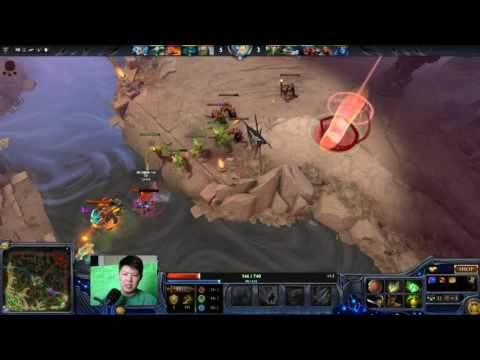 Dota 2 Glass Lightning Canon