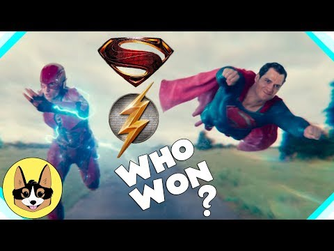 Flash vs Superman Race - Who Won?    ...