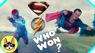 Flash vs Superman Race - Who Won?  |  Justice League Theory