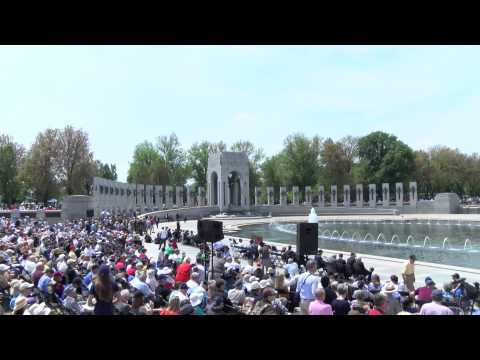 Arsenal of Democracy World War II Aircraft Flyover Washington D.C. May 8, 2015