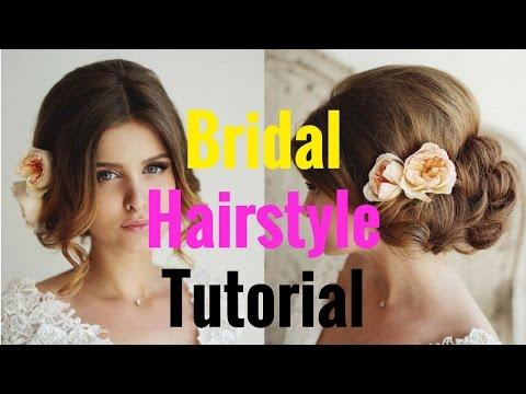 Bridal Hairstyle Tutorial | Wedding hairstyle 2017