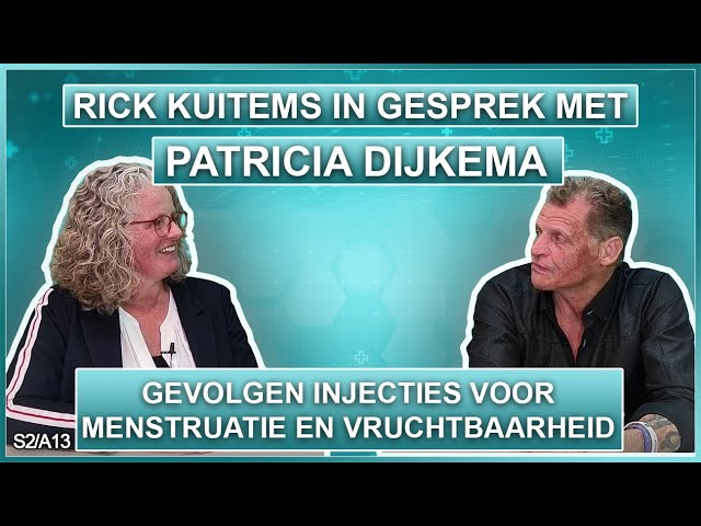 Rick Kuitems in gesprek met Patricia Dijkema Gevolgen injecties menstruatie en vruchtbaarheid S2A13