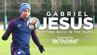 EXCLUSIVE: GABRIEL JESUS - BACK IN THE GAME