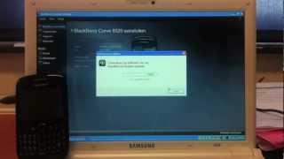 BlackBerry recovery reset