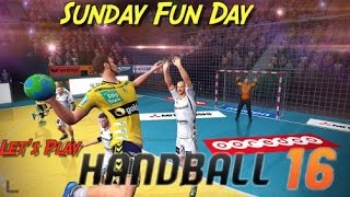 Kay Plays Handball 16!? Sunday Fun Day