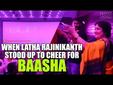 Latha Rajinikanth Celebrates BAASHA with...