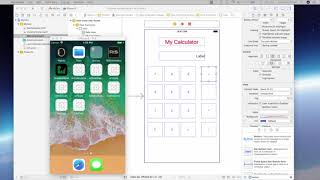 Het maken van een Rekenmachine in iOS met de Swift - Beginner Swift Cursus Module 1b