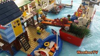 LASTENOHJELMIA SUOMEKSI - Lego city - Silakkamarkkinat - osa 2