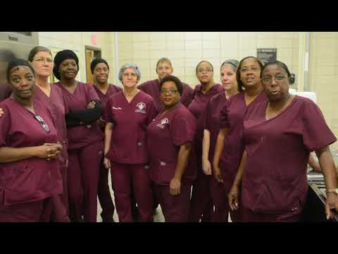 New Iberia High School, New Iberia, Louisiana, Cafeteria Workers Greeting Anthony