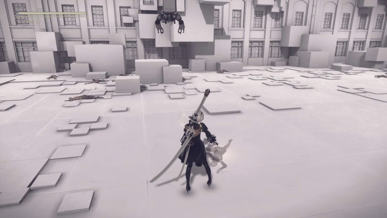 Image result for nier automata bodies