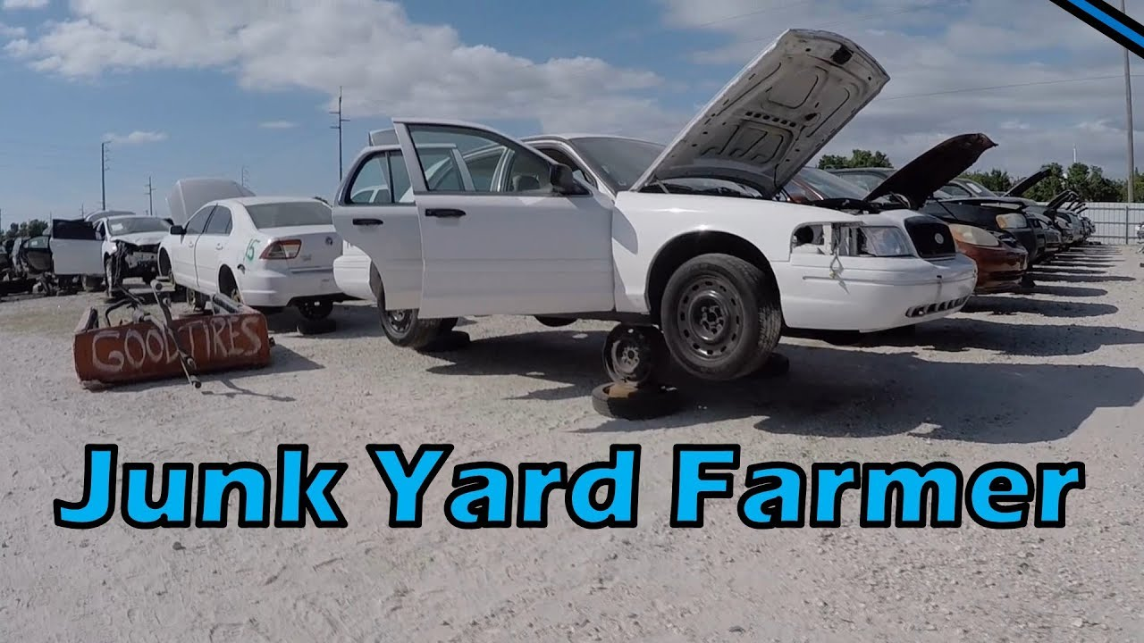 Should I Sell the Junk Yard Cop Car Parts??? - YouTube