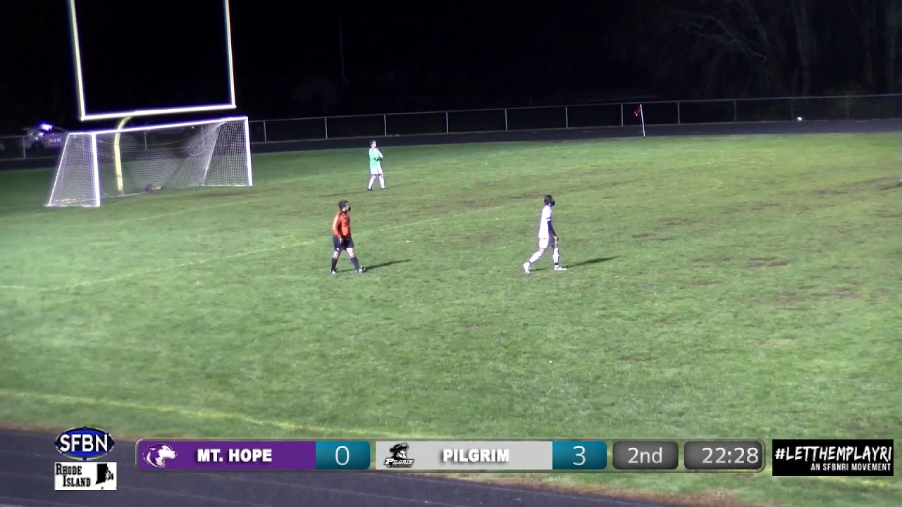 Mt Hope Huskies vs Pilgrim Patriots Varsity Soccer - SFBNRI live stream